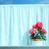 sideways: [o] flowers on a window sill (►other upper echelon)
