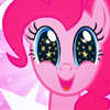 insidethechimney: pinkie pie is so happy right now (super happy)