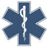 hakamadare: Star of Life logo (emergency, ems)