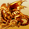 pensnest: golden dragon (dragon)