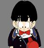 thegreatsaiyaman: (Kid Gohan embarassed)