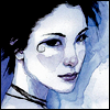 fascination: Death, of the Sandman comics. (She's a pretty gothic-looking woman.) (Death.)