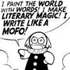 sarah_writes: (Sinfest - write like a mofo) (Default)