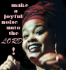 zvi: Jill Scott: make a joyful noise unto the Lord! (Story time)