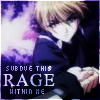 "veleda_k: Hisoka from Yami no Matsuei with the text ""Subdue the rage within me."" (Yami no Matsuei- Hisoka rage)"