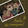 "wafflejones: Same scene from Disney's ""The Mouse Detective"" (SMILE)"