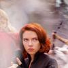 beck_liz: Avengers - Natasha backed up by her team (Avengers - Natasha)