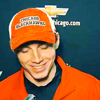 sylleptic: Patrick Kane wearing a baseball cap and smiling with his eyes closed (fandom; hockey; Kaner small)