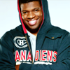 sylleptic: PK Subban in a hoodie with his arms crossed, smiling. (fandom; hockey; PK arms)