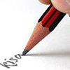 kisahawklin: Sharpened pencil writing 'kisa' (Default)