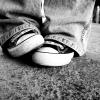 neverhadwings: Converse B&W (Converse)
