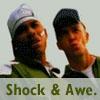 zvi: Nelly and Justin Timberlake look astonished: Shock & Awe. (astonishment)