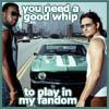 zvi: Deaq, Steve McQueen's car, Van (Fastlane): You need a good whip to play in my fandom (Fastlane)