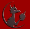 silveradept: The logo for the Dragon Illuminati from Ozy and Millie, modified to add a second horn on the dragon. (Dragon Bomb)