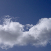 silveradept: White fluffy clouds on a blue sky background (Cloud Serenity)