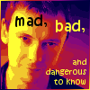 "kerravonsen: Simm!Master: ""Mad, bad, and dangerous to know"" (Master)"