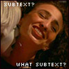 zvi: Chiana macking on Aeryn Sun: subtext? what subtext? (lesbian)