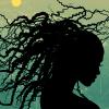 zinaya: (natural hair)