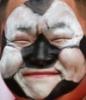 zing_och: a fan with a soccer ball pattern on his face (fußi)