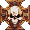 myhamsterfice: The crest of the Adeptus Astartes (Space Marines)