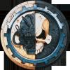 myhamsterfice: The symbol of the Adeptus Mechanium (Adeptus Mechanium)
