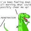carousel: (dinosaur ▹ PENETRATION!)