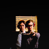 alchemy: Matthew Gray Gubler and Thomas Gibson in Criminal Minds ([cm] Always trying to solve the puzzle.)