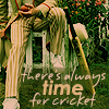 miss_s_b: (Who - Five (Cricket and the crotch), Britishness: cricket)