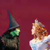 chickwithstick: Eden Espinosa and Megan Hilty in a scene from Wicked (catfight)