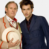 pepelequoi: Peter Davison and David Tennant (Peter Davison and David Tennant)