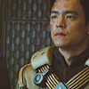 mitsubachi: Sulu in a flight suit. (ST: XI - Sulu *woobie face* :'()