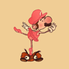 forked: (Ballet Mario)
