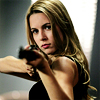 shanaqui: Jo from Supernatural, with gun. ((Jo) Watch yourself)