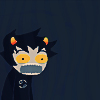 gloss: young troll shouting (HS: Karkat omfg)
