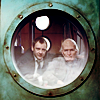 doctor_and_master: Simm!Master and Aged Ten looking through porthole (dw20r21cat1)