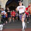 meri_oddities: Me at Cinderella's castle at the Disney Marathon 2012 (Run - Disney 2012)