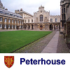 "cesy: Photo of Peterhouse with the College crest and the text ""Peterhouse"" (Peterhouse)"