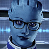 asari_scientist: I figured out what happened to the Protheans BEFORE it was popular (hipster liara)