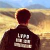zvi: Warrick Brown from behind, wearing his CSI jacket (CSI)