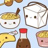 thisisarestaurantblog: cute cartoon picture of food such as fortune cookies, soda bottle, etc (Default)