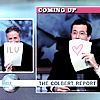 themistoklis: Jon Stewart and Stephen Colbert with ILU and <3 signs (Jon/Stephen)