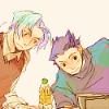 lian: pastelly Phoenix and Miles fanart (phoenix&miles)