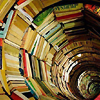 queen_ypolita: Books stacked to form a spiral (Bookspiral by celticfire)