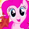 insidethechimney: pinkie pie is happy. she does that a lot (pinkie pie is happy)