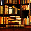 richard: (Library, Goodness look at the books)