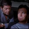 skywardprodigal: Kirk and McCoy confabbing (trek-bones is <3)