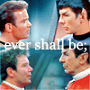 enchanting_muse: kirk spock ever shall be (SpockKirk)