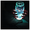 pipisafoat: two hands holding a brightly glowing jar in darkness (glow jar)