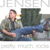 darkemeralds: Screencap of Jensen Ackles air-guitaring to Eye of the Tiger (Jensen Rocks)