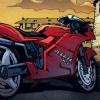 aravistarkheena: Tim's Ducati from issue 1 of Red Robin (Comics: Tim's Ducati)